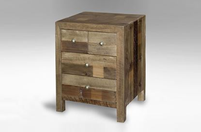 Picture of Kashmir 4 Drawer Bedside