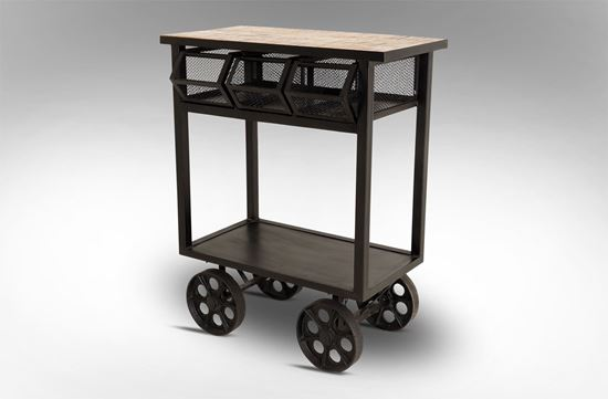 Picture of 3 Drawer Trolley Table