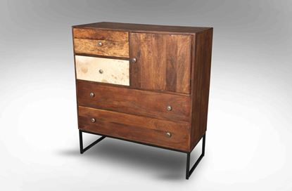 Picture of Berkshire 4 Drawer Cabinet