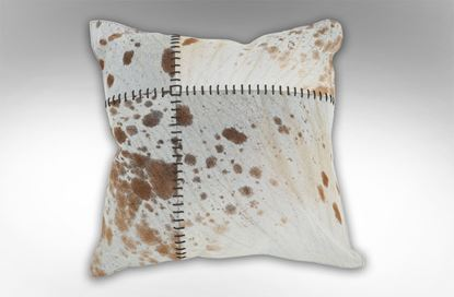 Picture of Tan Stitched Cushion