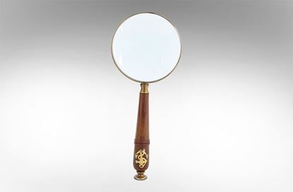Picture of Wooden Handle Magnifying Glass