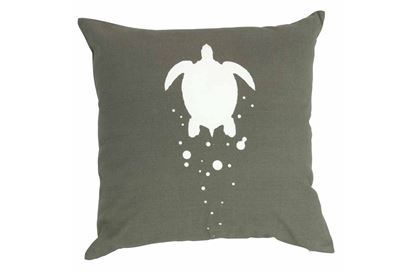 Picture of Franklin Cushion Charcoal 43x43cm