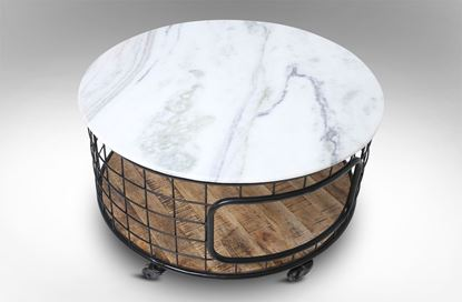Picture of Nepal Marble Round Coffee Table
