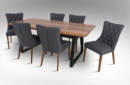 Picture of Rio 2000 Dining Table With 6 Paris Chairs