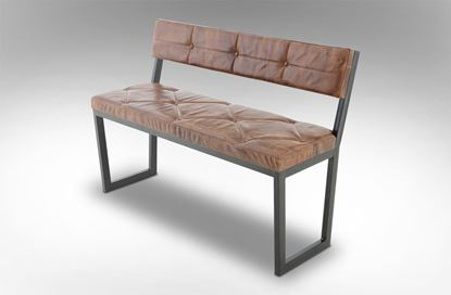 Picture of Berlin Leather Bench