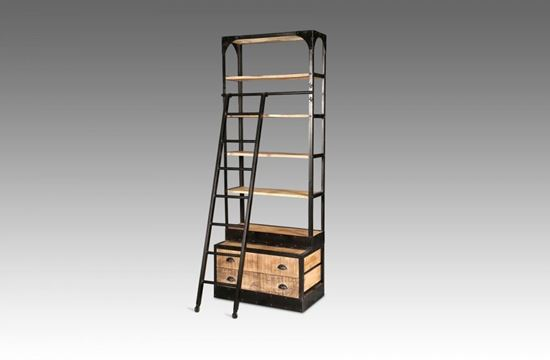Picture of Cuba 2 Drawer Library Cabinet