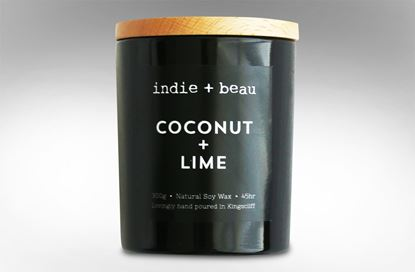 Picture of Coconut and Lime Black Jar
