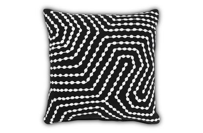 Picture of Tarry Black Cushion 50cm