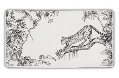 Picture of Leopard Plate