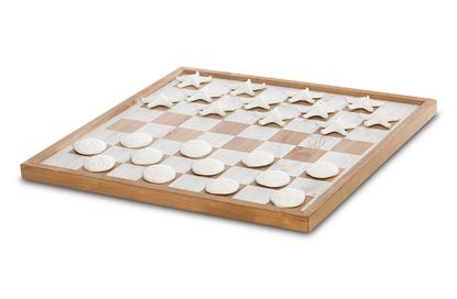 Picture of Mayfair Coastal Checkers Board