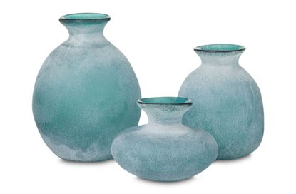 Picture of Set Of 3 Bubble Gum Vases