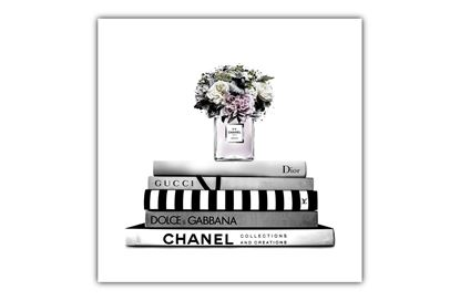 Picture of Chanel Luxe Flowers 80x80