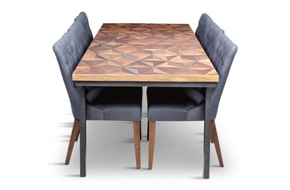 Picture of Phoenix 2000 Dining Table With 6 Paris Dining Chair