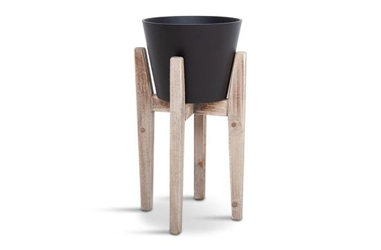Picture of SML Lawson Black Pot with Stand