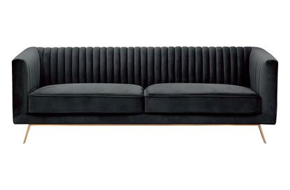 Picture of Mia 3 Seat Sofa Midnight