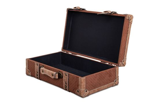 Picture of MED Vintage Luggage Camel