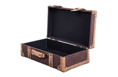 Picture of MED Vintage Luggage Chocolate