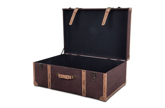 Picture of XXXL Vintage Luggage Chocolate