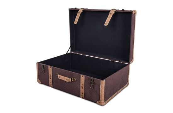 Picture of XXL Vintage Luggage Chocolate