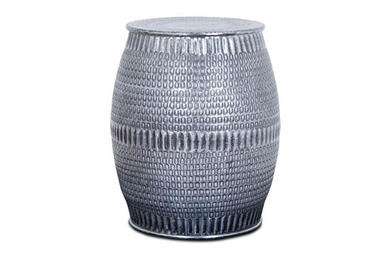 Picture of Aztec Stool Silver
