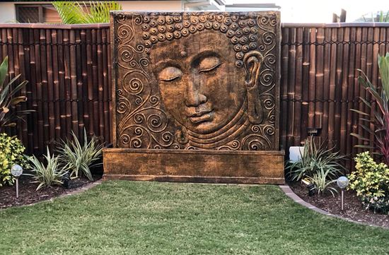 Picture of Extra Large Buddha Fountain with Pump