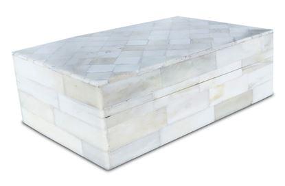 Picture of Diamond Bone Inlay Box small