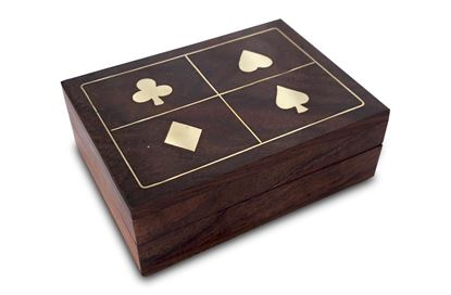 Picture of Four Suites Single Card Box