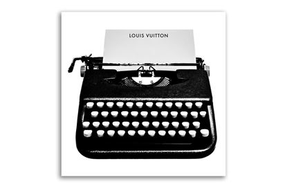 Picture of Louis Vuitton Typewriter 40x40