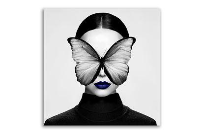 Picture of Butterfly Blue 80x80