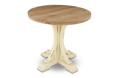 Picture of Mia Round Dining Table White