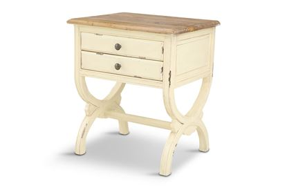 Picture of Sia Side Table White