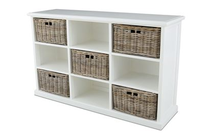Picture of Noosa Five Basket/Nine Shelf Cabinet