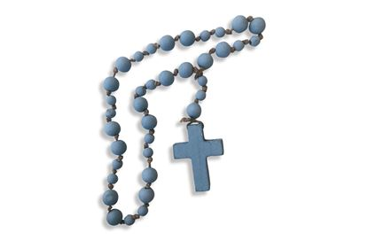 Picture of Beaded Cross Blue
