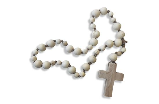 Picture of Beaded Cross Natural