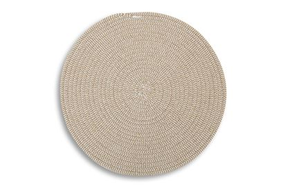 Picture of Round Woven Placemat Brown