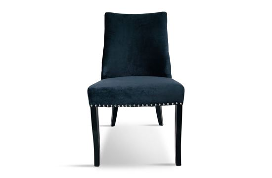 Picture of Bentley Black Dining Chair Silver