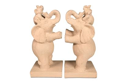 Picture of Elephant Bookends