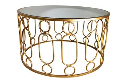 Picture of Glamour Gold Coffee Table Small