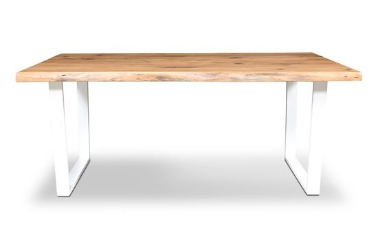 Picture of Bondi 1800 Dining Table White U Frame
