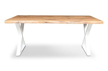 Picture of Bondi 1800 Dining Table White X Frame