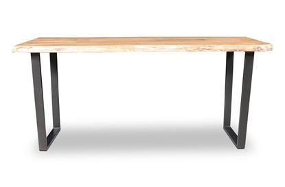 Picture of Bondi Bar Table Black U Frame