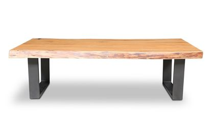 Picture of Bondi Coffee Table Black U Frame