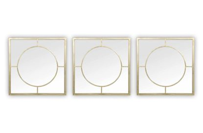 Picture of Hamptons Mirror (Set of 3)