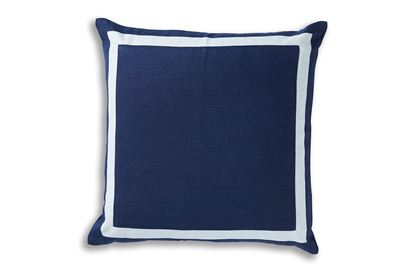 Picture of Riviera Navy Linen 50 x 50