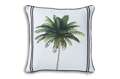 Picture of Palms Linen 50 x 50