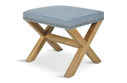 Picture of Chloe Coastal Cross Stool