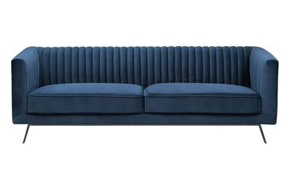 Picture of Mia 3 Seat Sofa Glacier Black Base