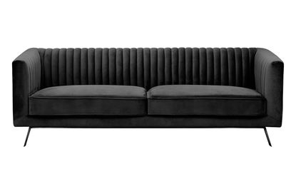 Picture of Mia 3 Seat Sofa Midnight Black Base