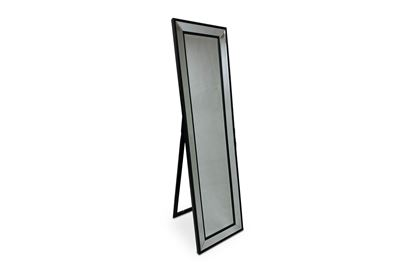 Picture of Cheval Black Floor Mirror