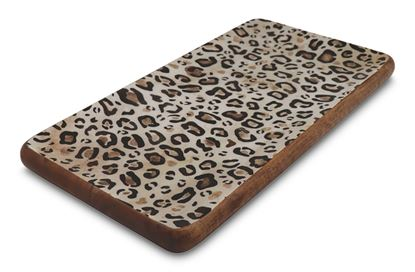Picture of Leopard Rectangle Platter